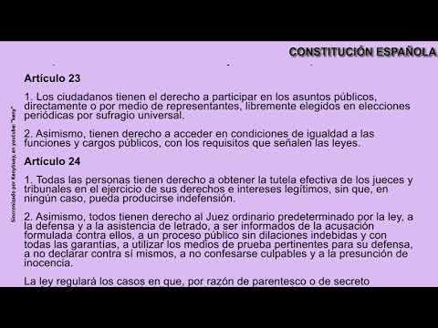 constitucion-espaÑola-completa-con-audio-y-texto