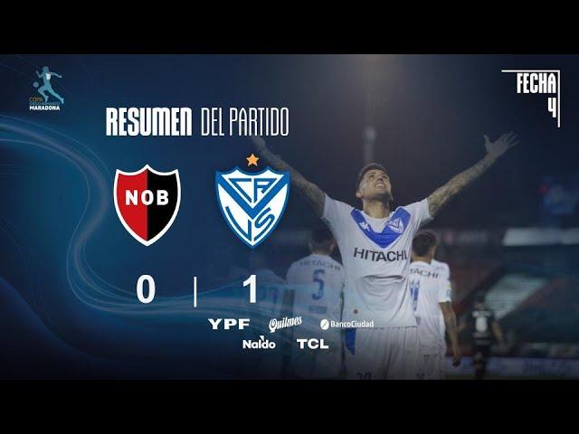 Copa Diego Maradona | Fases | Fecha 4 | resumen de Newell's - Vélez