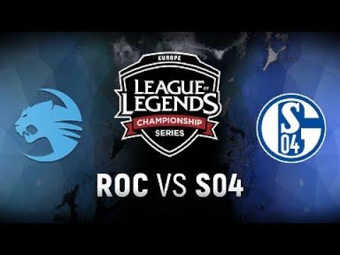 ROC vs. S04  - Week 1 Game 4 | EU LCS Spring Split |  Team Roccat vs. FC Schalke 04 (2018)