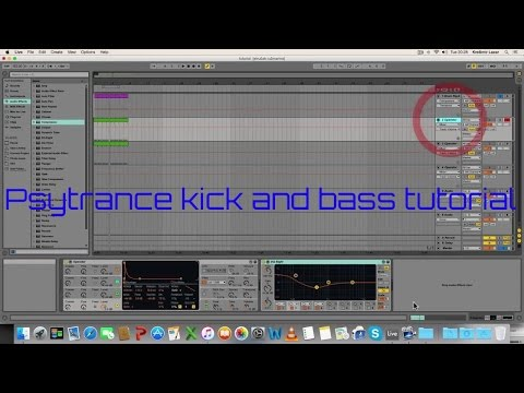Psytrance kick and bass tutorial (Ableton...