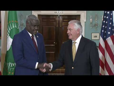 Secretary Tillerson Meets With Moussa Faki