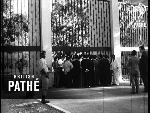 Talks For Algeria-Morocco Ceasefire (1963)