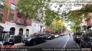 Video Tour of a 1-Bedroom Furnished Apartment in the East Village, Manhattan