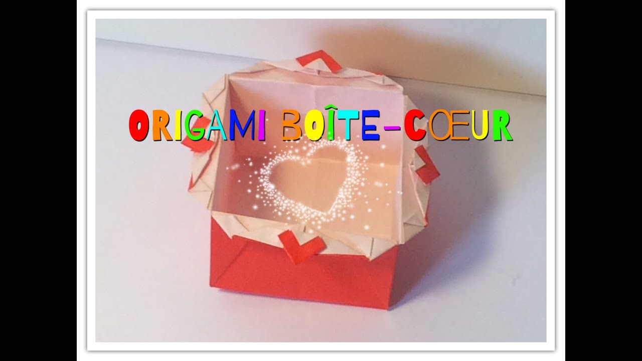 ORIGAMI BOÎTE-CŒUR / HEART - BOX (Mathis Lopez - Funny ... - photo#11