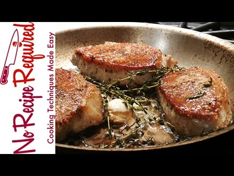 How to cook boneless pork chops noreciperequired youtube ccuart Gallery