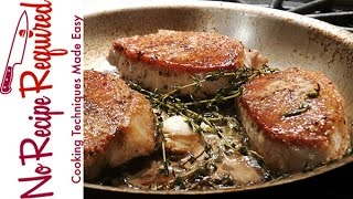 How to Cook Boneless Pork Chops - NoRecipeRequired.com