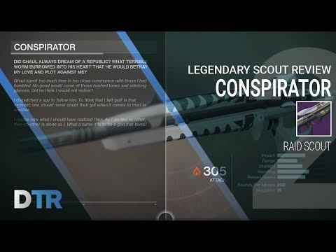 Destiny 2: Conspirator Review, Raid Scout Rifle, Legendary Mida Multi Tool