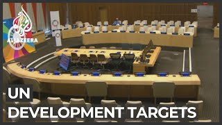 UN's sustainable development goals 'way off track' after 5 years