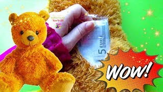 Second Hand What I find insideTeddy Bear. Surprise in a toy