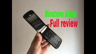 The New Binatone Blade Flip Phone Full Review UK