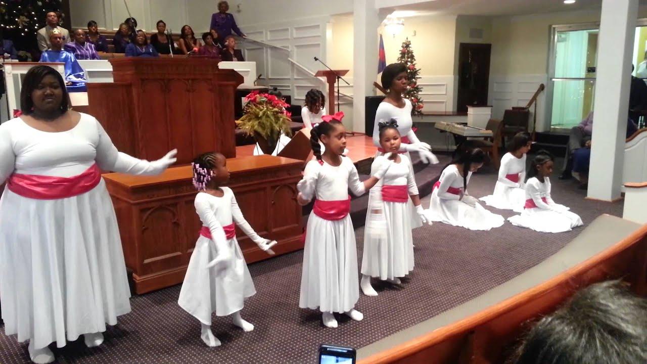 christmas praise dance toliver chapel 2012 - Christmas Praise Dance