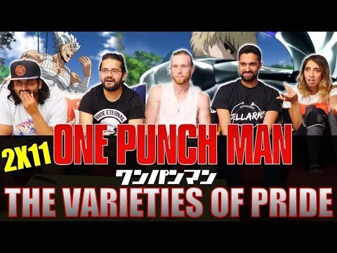 One Punch Man - 2x11 The Varieties of Pride - Group Reaction