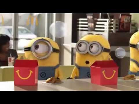 McDonald's Happy Meal Toys : Despicable Me 2