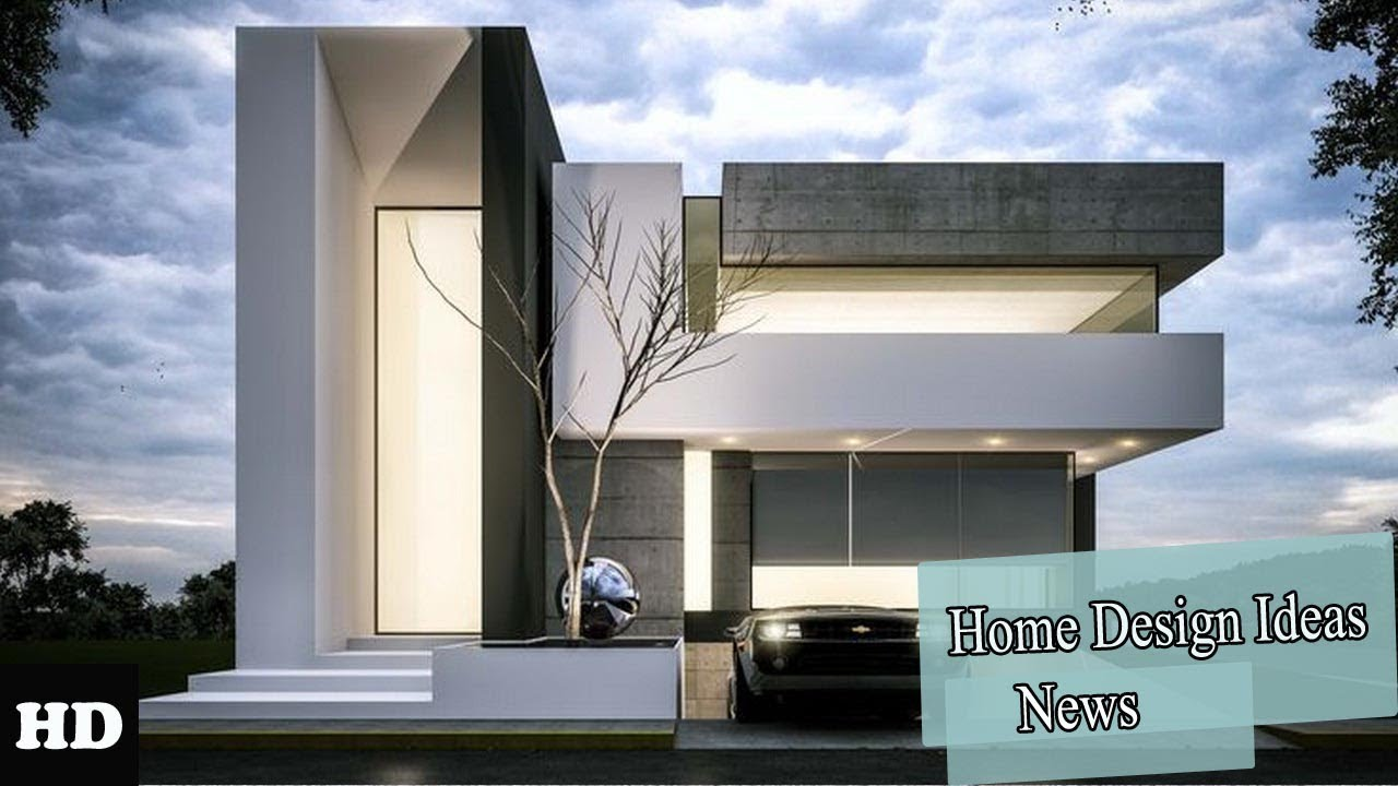 Amazing Modern House Design Ideas 2018