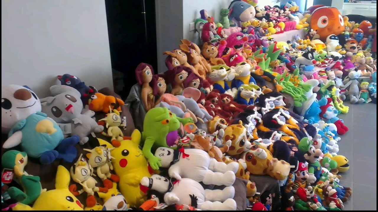 The Greatest Claw Machine Plush Collection Of All Time