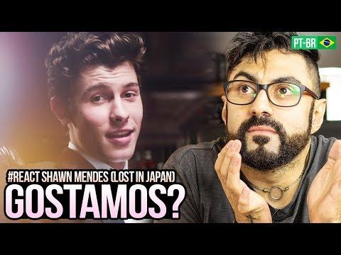 REAGINDO a Shawn Mendes Zedd - Lost In Japan