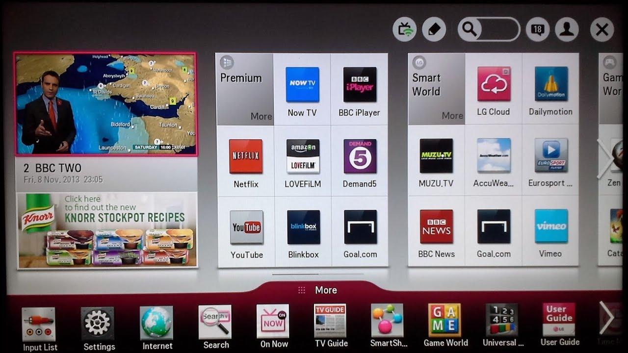 YOUTUBE TV APPS FOR LG TV PHONE - LG Magic app