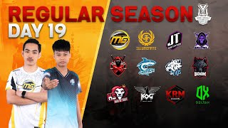 Free Fire Pro League Season 3 : Regular Season Day 19