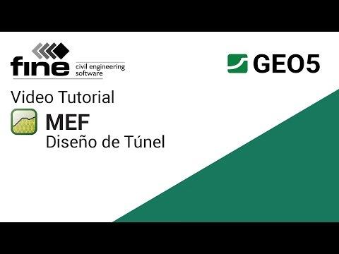 geo5-tutoriales:-diseño-de-túnel-en-el-programa-mef