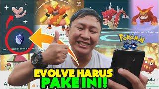 EVOLVE POKEMON MERAH + EVOLUSI UNOVA STONE !!! 「Pokemon GO Indonesia」