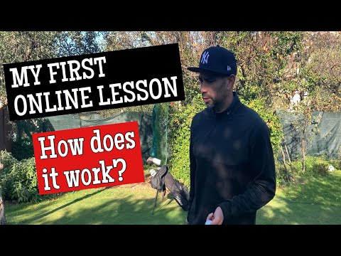 My First Online Golf Lesson | How Does It Work?