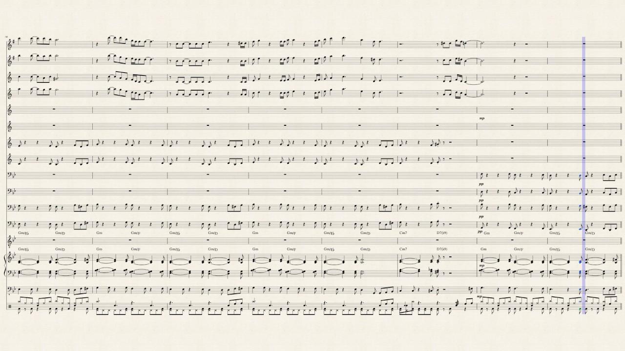 Feeling Good Nina Simone Big Band Arrangement
