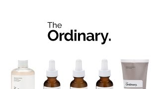 THE TOP 5 PRODUCTS FROM THE ORDINARY