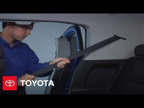 2007 - 2009 FJ Cruiser How-To: Seatbelt Automatic Locking Retractor | Toyota