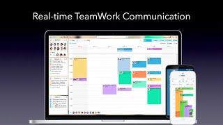 TeamOn(チームオン) チームワークのためのリアルタイムコミュニケーションサービスiOS Android