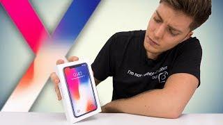 Je déballe l'iPhone X !