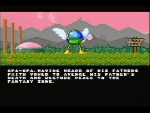 Super Fantasy Zone Intro & Attract