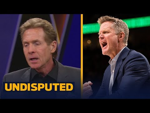 Skip and Shannon react to Kerr saying the Warriors are 'primed to really take off'   UNDISPUTED