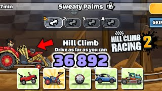 Hill Climb Racing 2 - 36892 points in SWEATY PALMS Team Event