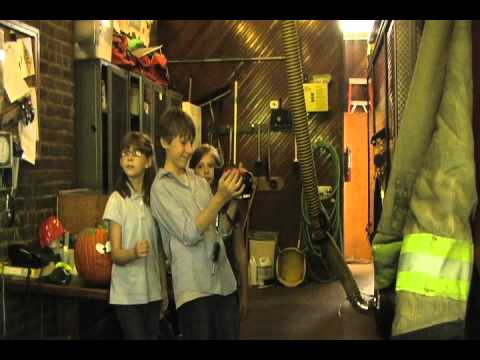 "See Lexington's Haunted Fire Station through an infrard camera on ""Crosstown Kids"""