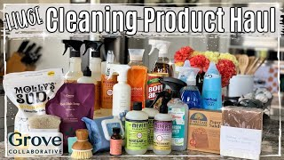 HUGE GROVE COLLABORATIVE HAUL FALL 2019 :: NATURAL & NON TOXIC CLEANING PRODUCT UNBOXING