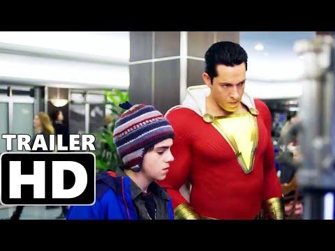 SHAZAM - Meet SHAZAM! NEW Trailer (2019) Zachary Levi, Lovina Yavari DC Superhero Movie