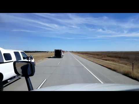 Bigrigtravels Live! - Burlington, Colorado to Garfield, Kansas - Interstate 70 East - Oct 26,  2016