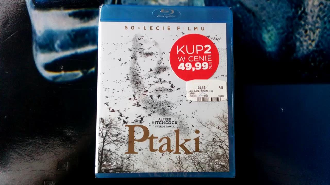 Download Unboxing Ptaki (The Birds 1963) Blu-ray
