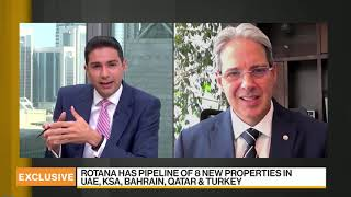 Bloomberg TV interview with Guy Hutchinson, President and CEO of Rotana hotels