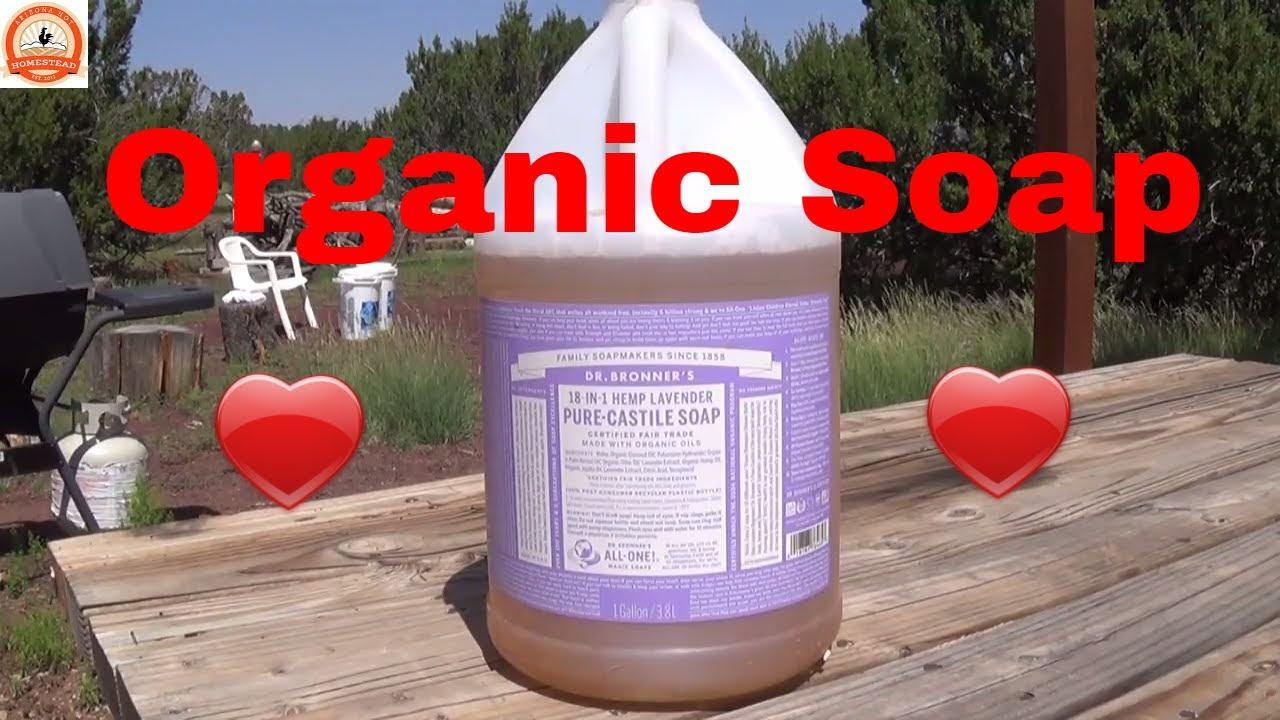 organic soap pure castile soap for laundry shampoo dishes bathing etc youtube. Black Bedroom Furniture Sets. Home Design Ideas