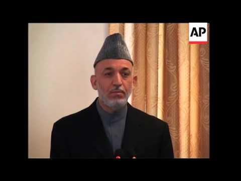 Karzai on Afghan elex after UN envoy says 'widespread fraud' took place