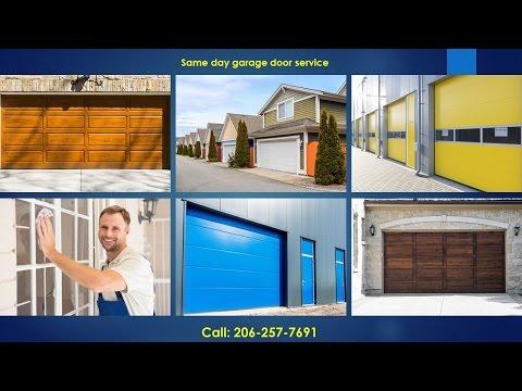 Garage Door Repair Seattle 206-257-7691 Garage Door Services Seattle WA
