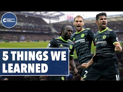 Oscar Brilliant, Costa On Fire | The Five Things We Learned | Swansea Vs Chelsea