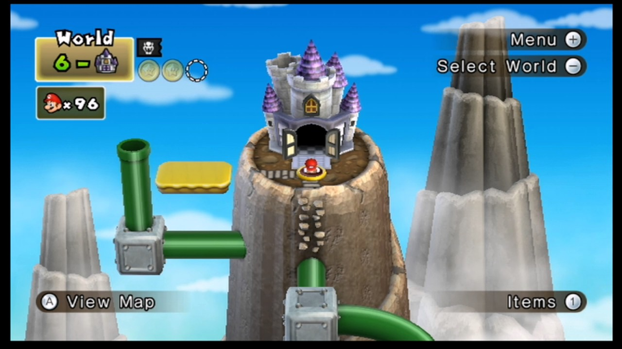 New Super Mario Bros Wii Episode 66 World 6 Big Castle Youtube