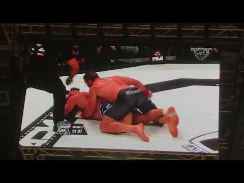 Oli Thompson VS Roman Wehbe 26/1/2019 Abu Dhabi Warriors