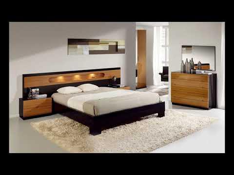 Modernes schlafzimmer interieur bild