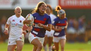 France 7 féminin : Les essais contre l'Angleterre à Dubaï