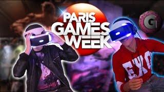 GANGiNOU & Co A LA PARIS GAMES WEEK 2015 !