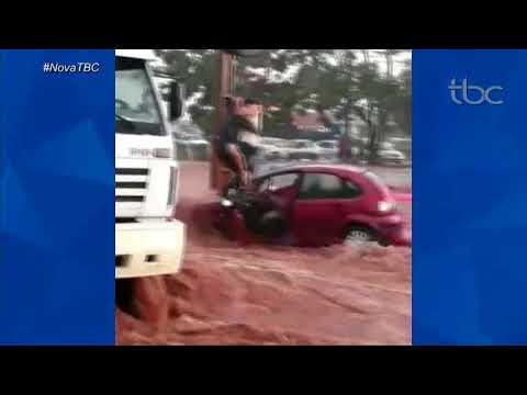 JBC 1ª Edição, Quarta Feira 21 de Março, Chuvas estragos em Valparaíso