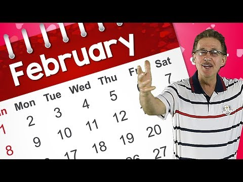 It's February! | Kids Calendar Song | Jack Hartmann